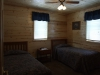 Cabin Rental Bedroom in Lake of the Woods, MN