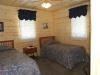 Lake of the Woods Cabin Rental Bedroom