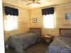 Lake of the Woods Cottage Rental Bedroom